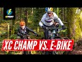 E-Bike Vs Mountain Bike - Which Is Faster? | EMBN Vs Pauline Ferrand-Prevot
