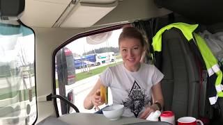 Sposób na suche powietrze w kabinie/ My tip for dry air in the truck. Iwona Blecharczyk