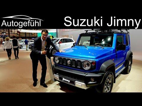 All-new Suzuki Jimny REVIEW Exterior Interior 2019 - Autogefühl