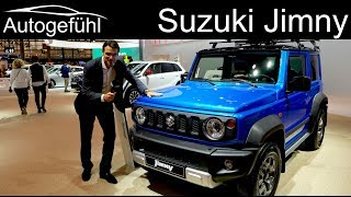 All-new Suzuki Jimny REVIEW Exterior Interior 2019 - Autogefühl