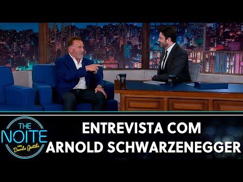 Entrevista com Arnold Schwarzenegger  The Noite 190619