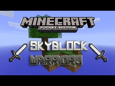 Skyblock Warriors Mini-Game - Minecraft Pocket Edition
