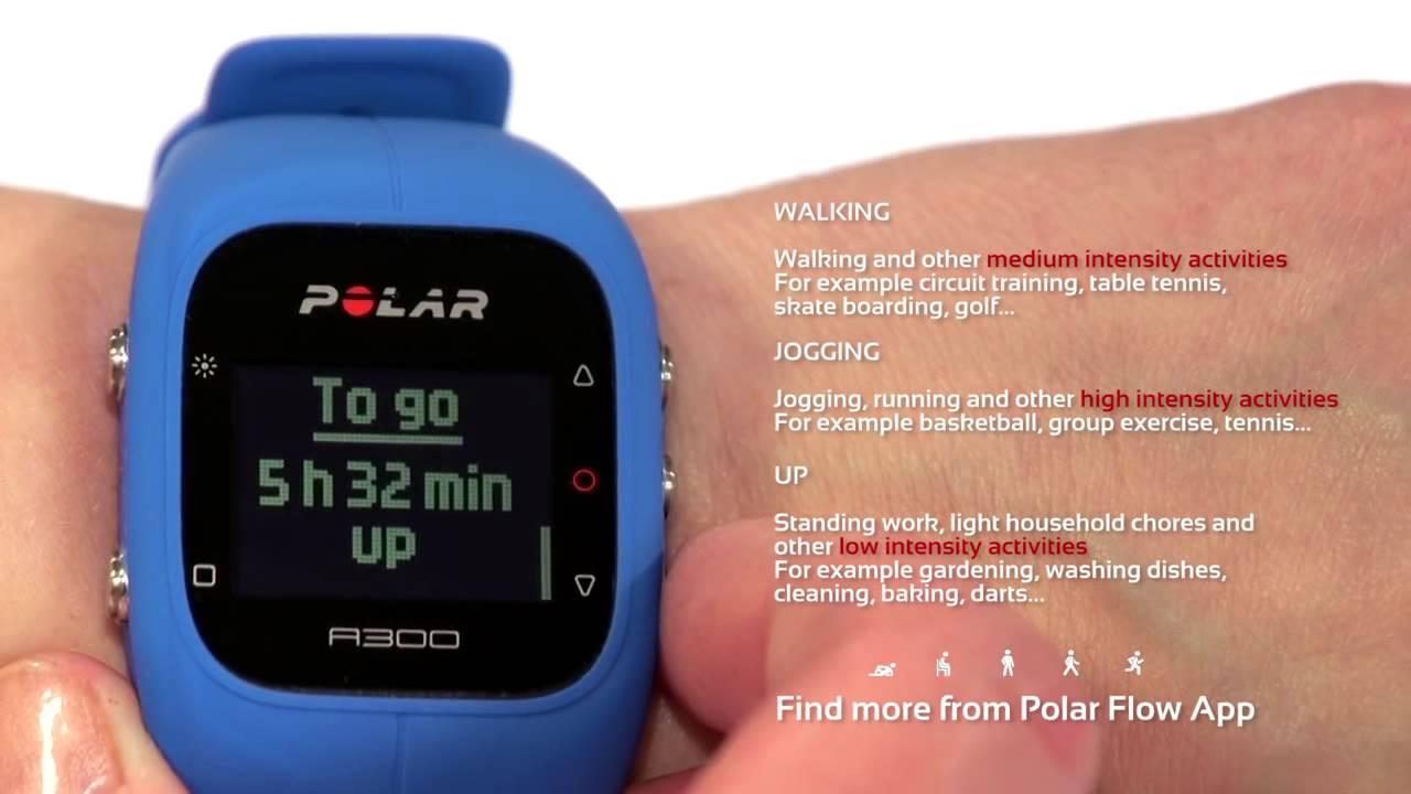 28f1644fe4e0 Monitor de actividad física POLAR A300 - YouTube
