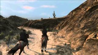 Red Dead Redemption Walkthrough Part 32 : The Mexican Wagon Train - PS3 Gameplay (HD)