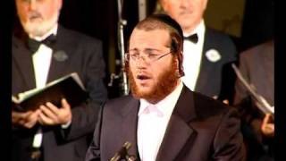 Cantor Yaakov Lemmer Sings Zochreinu L'chaim With The Jerusalem Cantors Choir In Budapest Hungary