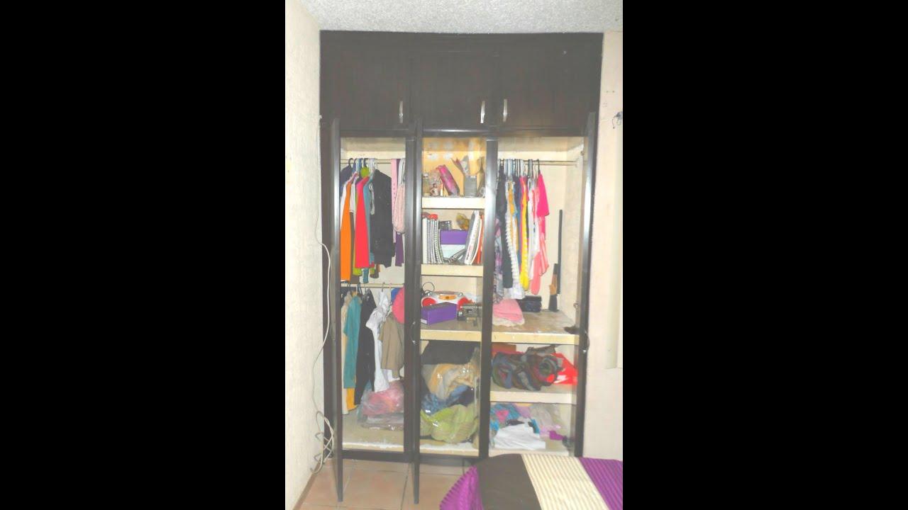 Puertas abatibles de pvc para closets de muroblock doovi for Ideas puertas de closet