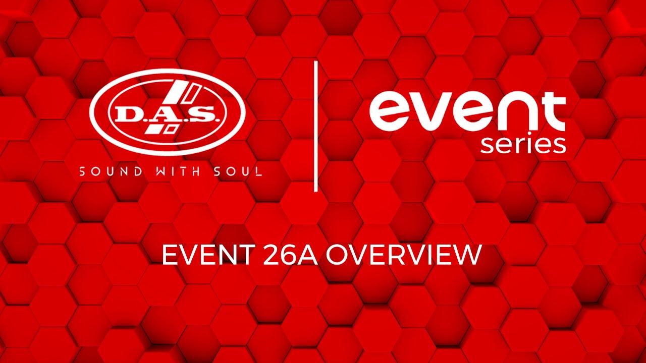 Resumen del Event-26A Line Array de DAS AUDIO