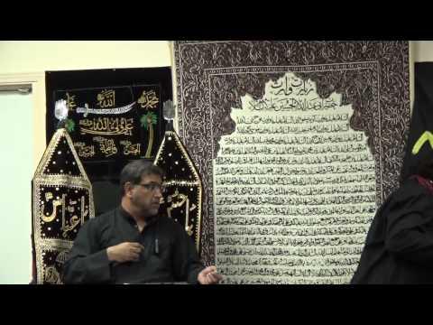 5th Safar, Majlis Recited at Ottawa Islamic Center, Dec 12, 2014