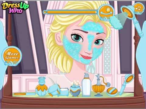 Juegos De Vestir Y Maquillar De Frozen