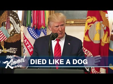 MASH-UP: Trump's Al-Baghdadi Speech & Obama's Bin Laden Speech