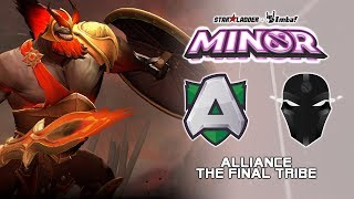 Alliance vs TFT | StarLadder ImbaTV Dota 2 Minor Season 2