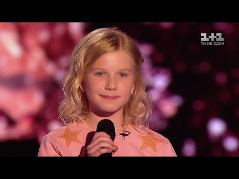 Sofia Shkidchenko 'What does the fox say?' – Blind Audition – Voice.Kids – season 4