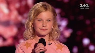 Sofia Shkidchenko 'What does the fox say?' - Blind Audition - Voice.Kids - season 4