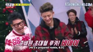 [ENG SUB] RUNNING MAN EPISODE 278 - BOBBY & B.I. DANCING CUT