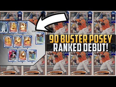 VS. NIEKRO & ALL IMMORTALS! 90 BUSTER POSEY DEBUT MLB THE SHOW 18!