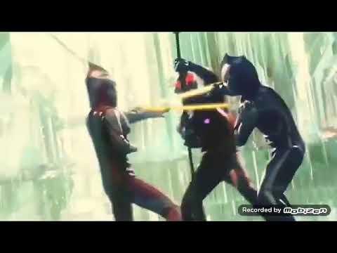 Ultaman Mebius Dan Ultraman Hikari Vs Belial