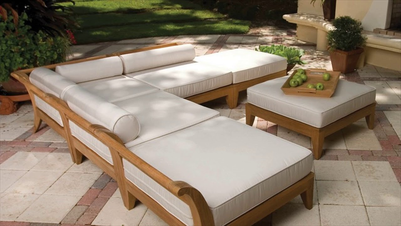 Diy Outdoor Furniture Plans Youtube
