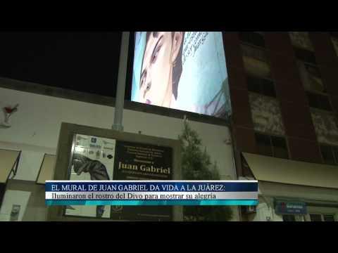 El Mural De Juan Gabriel Da Vida A La Ju Rez Youtube