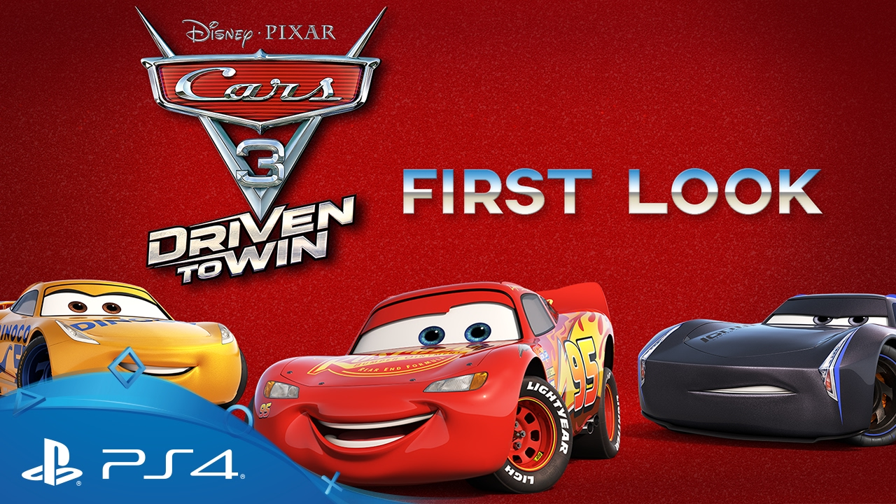 cars 3 driven to win first look trailer ps4 youtube. Black Bedroom Furniture Sets. Home Design Ideas