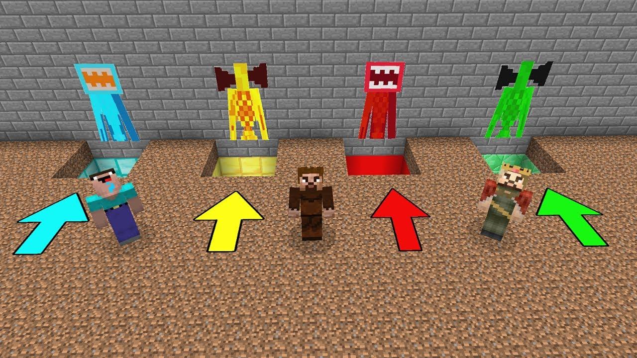 YANLIŞ SİREN KAFA ÇUKURUNA GİRERSEN ÖLÜRSÜN #7 😱 - Minecraft