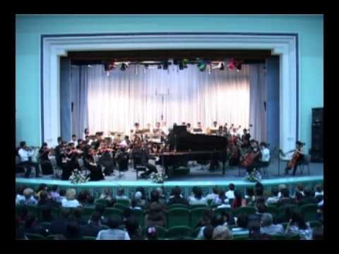 Rachmaninov - Concerto №3 plays Vladislav Kosminov and the National Orchestra of Uzbekistan