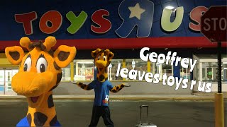 Geoffrey Leaves Toys R Us! Staten Island Ny