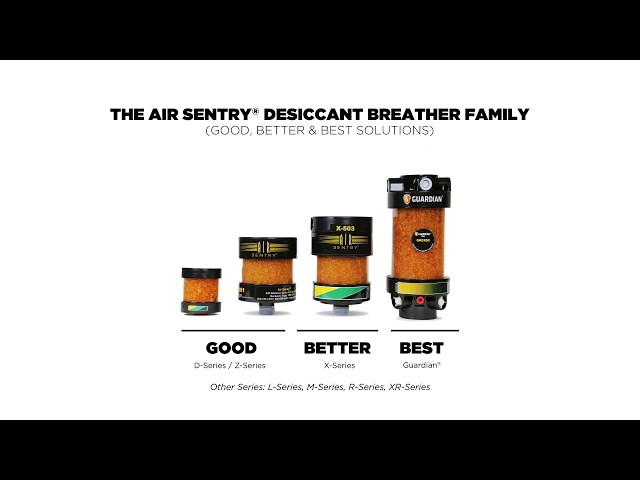 Air Sentry®  - Desiccant Breathers Product Line