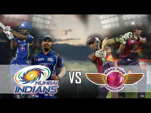 VIVO IPL 2017: Rising Pune Supergiant Vs Mumbai Indians Qualifier 1