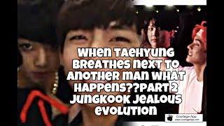 Taekook-who can make jungkook insane /jealous part 2||2013-18||