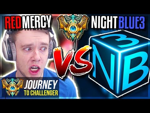 REDMERCY vs NIGHTBLUE3 THE FINAL SHOWDOWN - Journey To Challenger  League of Legends