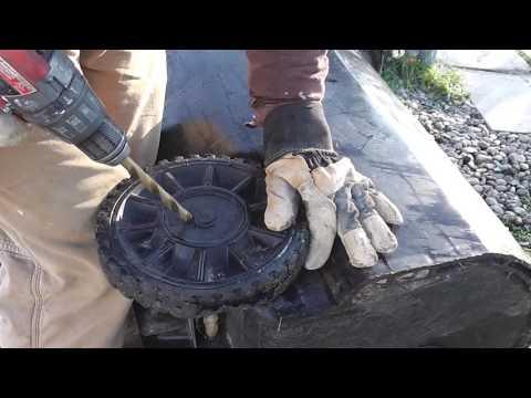 Sacramento county trash can wheel removal
