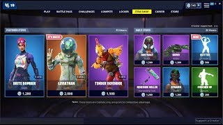 NEW*Glitter Emote & Leviathan Skin Back! Fortnite Item Shop May 28, 2019
