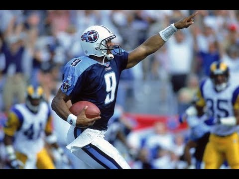 "Ultimate Steve ""Air"" Mcnair Tennessee Titans Highlights"