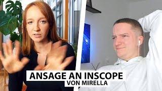 Justin reagiert auf Mirella's Ansage an Inscope.. | Reaktion