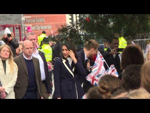 Meghan e Harry celebram Dia da Mulher em Birmingham