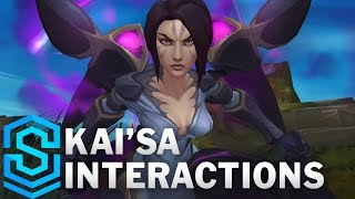 Kai'Sa Special Interactions