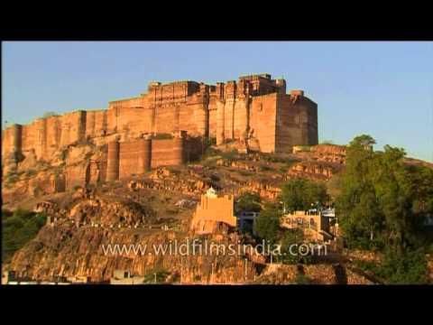 Mehrangarh Fort In Jodhpur, Rajasthan