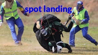 paragliding landing compilation: accuracy competition!!!