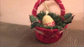 Repeat youtube video Uskrsne Košarice ( Cestini di Pasqua - Easter baskets )