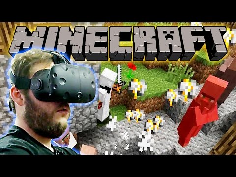 VR Minecraft Dragon Quest Ep. 3 - Village Slaughter
