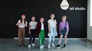 DETKI - Прыгай - Официальный видео урок по хореографии из клипа - Open Art Studio