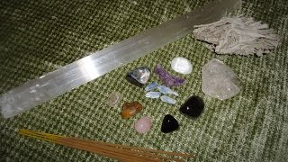 Crystals - How I Cleanse and Charge & More by Bro. Sanchez