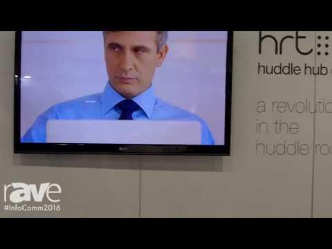 InfoComm 2016: HRT Announces Huddle Hub One