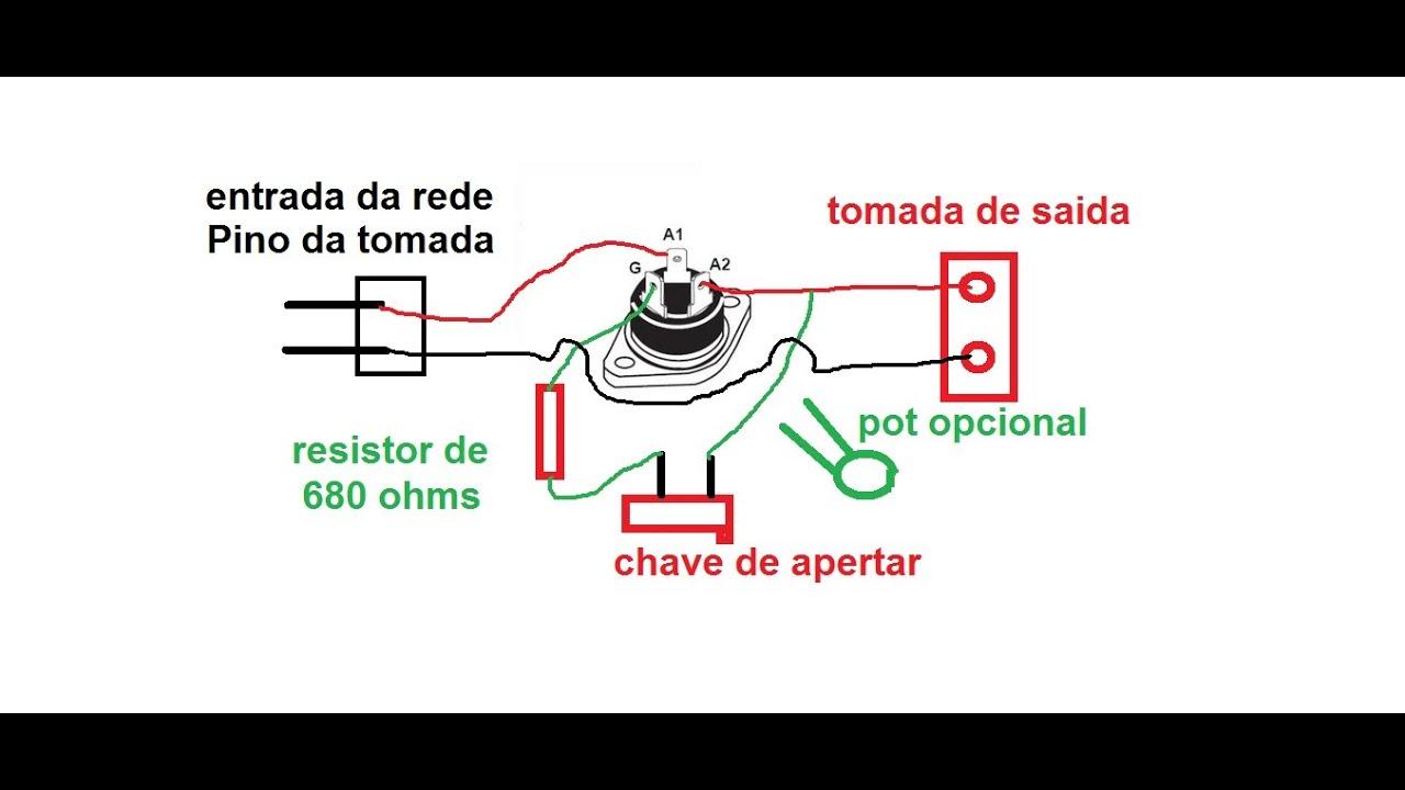 Circuit Diagram Using Triac