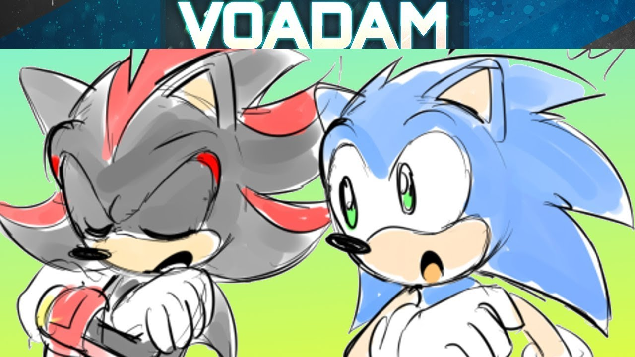 Sonic Comic Dub Moment With Friends Featuring Sonic The Hedgehog Fanart And Shadow Youtube