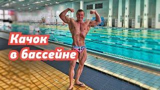 КАЧОК на соревнованиях по ПЛАВАНИЮ!