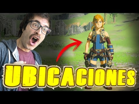 UBICACIONES TRAJE XENOBLADE CHRONICLES 2 DLC - Zelda Breath of the Wild - Español