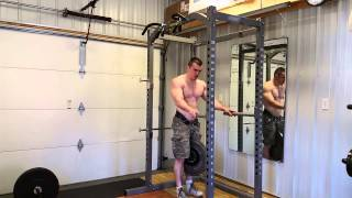 Weighted Dips 100lbs X 100 reps