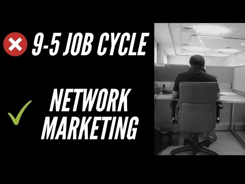 Break 9-5 Job Cycle through Network Marketing Business (Webinar in Hindi)