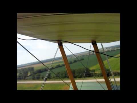 Sopwith Pup onboard 3 Cambridge fly 2013